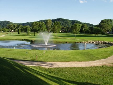 The Fountain at Westfield Golf Course