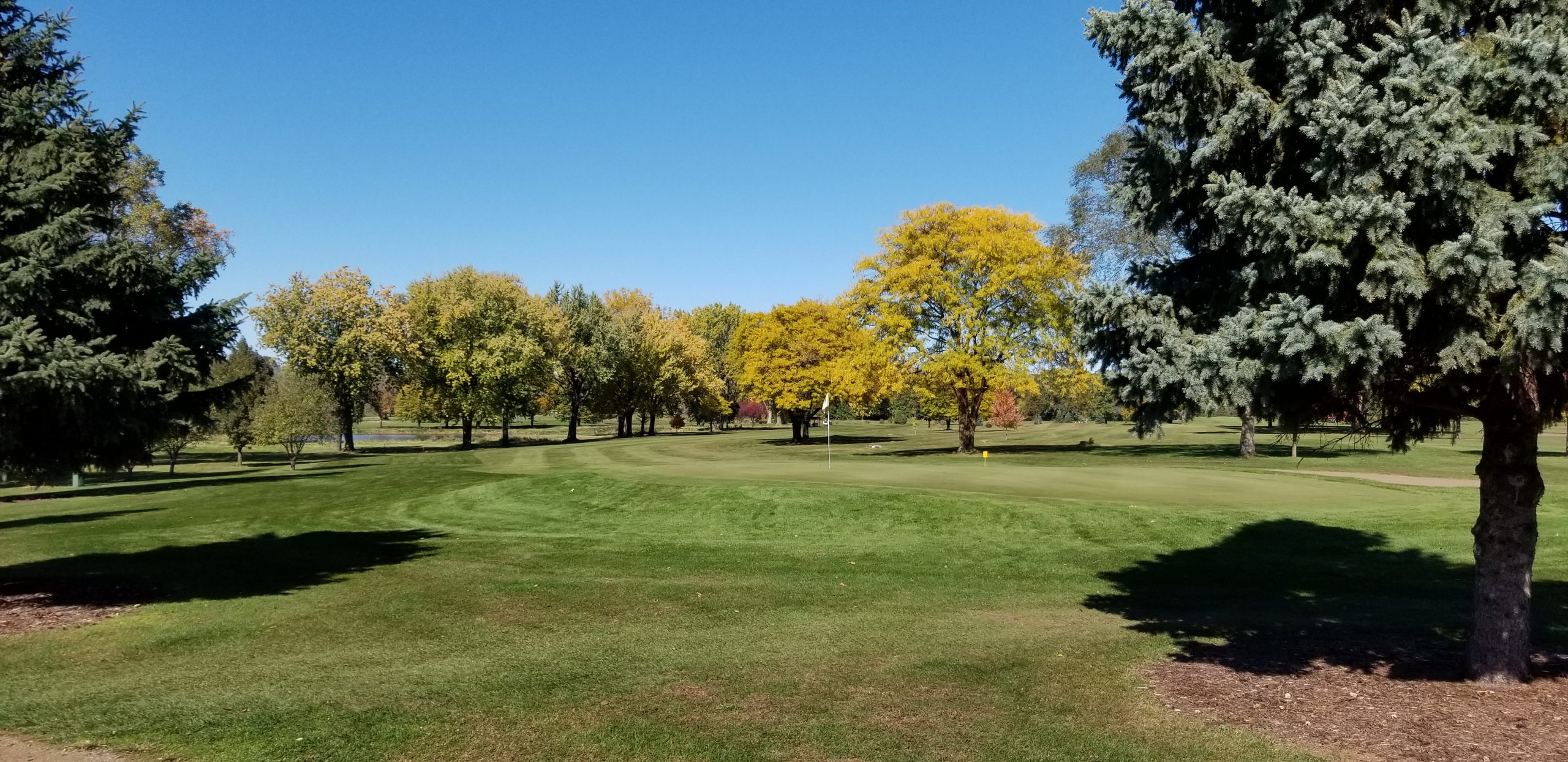 Westfield Golf Course in the Fall